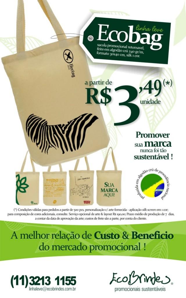 Promoção Ecobag 1